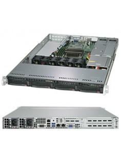 Supermicro SuperServer 5019C-WR Intel C246 LGA 1151 (pistoke H4) Teline ( 1U ) Musta Supermicro SYS-5019C-WR - 1