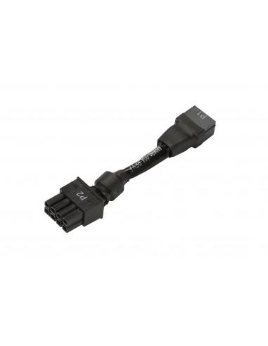 HP 6pin to 8pin Power Supply Adapter 8-pin 6-pin Black Hp N1G35AA - 1