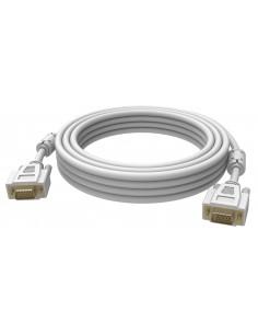 Vision 2x VGA 15-pin D-Sub, 15m VGA-kaapeli (D-Sub) Valkoinen Vision TC 15MVGAP - 1