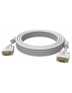 Vision 2x VGA 15-pin D-Sub, 5m VGA-kabel (D-Sub) Vit Vision TC 5MVGAP - 1