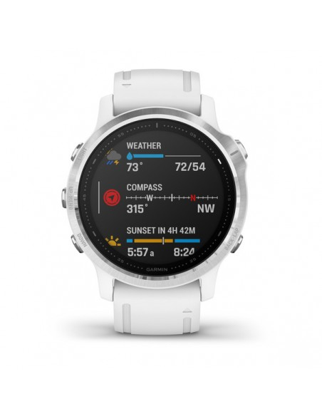"Garmin fēnix 6S 3.05 cm (1.2"") 42 mm Svart, Vit GPS Garmin 010-02159-00 - 2"