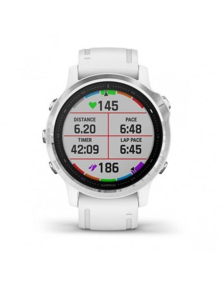 "Garmin fēnix 6S 3.05 cm (1.2"") 42 mm Svart, Vit GPS Garmin 010-02159-00 - 6"