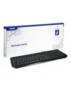 Innovation IT KEY-613M tangentbord USB QWERTZ tyska Svart Innovation It KEY-613M - 1