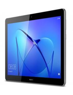 "Huawei MediaPad T3 4G LTE 16 GB 24.4 cm (9.6"") Qualcomm Snapdragon 2 Wi-Fi 4 (802.11n) Android 7.0 Grå Huawei 53010JBK - 1"