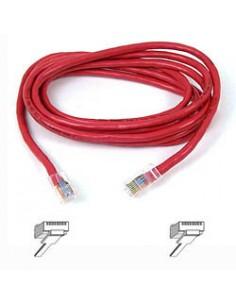 Belkin CAT 5 PATCH CABLE nätverkskablar 0.5 m Belkin A3L791B50CM-RED - 1