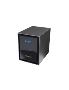 Netgear ReadyNAS 426 NAS Nätverksansluten (Ethernet) Svart Netgear RN426E1-100NES - 1
