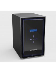 Netgear RN428 NAS Työpöytä Ethernet LAN Musta Netgear RN428E6-100NES - 1