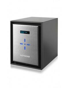 Netgear ReadyNAS 526X NAS Mini Tower Ethernet LAN Musta, Hopea D1508 Netgear RN526XE3-100NES - 1