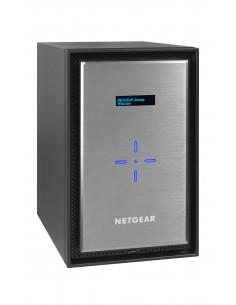 Netgear ReadyNAS 628X NAS Työpöytä Ethernet LAN Musta, Hopea D-1521 Netgear RN628XE6-100NES - 1