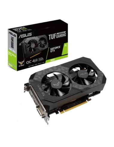 ASUS TUF Gaming TUF-GTX1650-O4GD6-GAMING NVIDIA GeForce GTX 1650 4 GB GDDR6 Asus 90YV0EH0-M0NA00 - 1