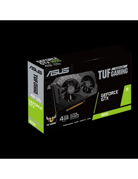 ASUS TUF Gaming TUF-GTX1650-4GD6-GAMING NVIDIA GeForce GTX 1650 4 GB GDDR6 Asus 90YV0EH1-M0NA00 - 8