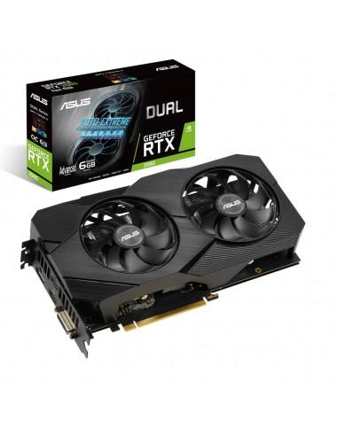 ASUS Dual -RTX2060-A6G-EVO NVIDIA GeForce RTX 2060 6 GB GDDR6 Asustek 90YV0CH3-M0NA00 - 1