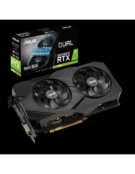 ASUS Dual -RTX2060-A6G-EVO NVIDIA GeForce RTX 2060 6 GB GDDR6 Asustek 90YV0CH3-M0NA00 - 2