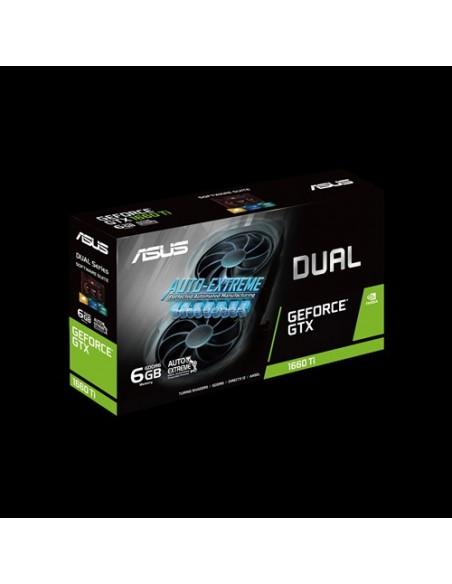 ASUS Dual -GTX1660TI-6G-EVO NVIDIA GeForce GTX 1660 Ti 6 GB GDDR6 Asustek 90YV0CR5-M0NA00 - 8