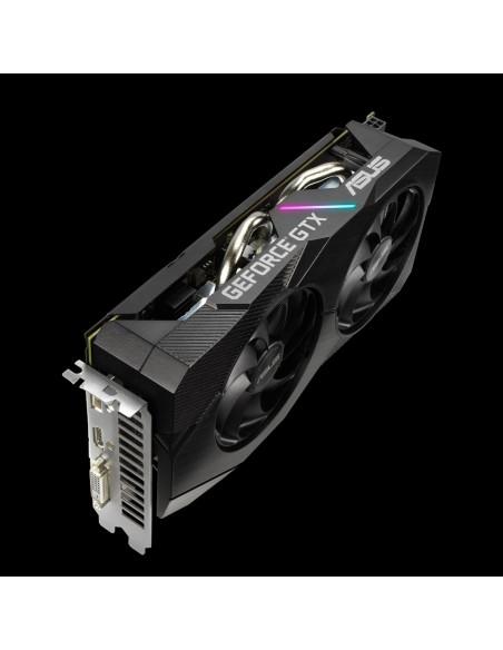 ASUS Dual GTX1660-6G-EVO NVIDIA GeForce GTX 1660 6 GB GDDR5 Asustek 90YV0D14-M0NA00 - 5