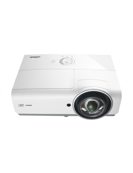 Vivitek DW882ST data projector Desktop 3600 ANSI lumens DLP WXGA (1280x800) Grey, White Vivitek DW882ST - 2