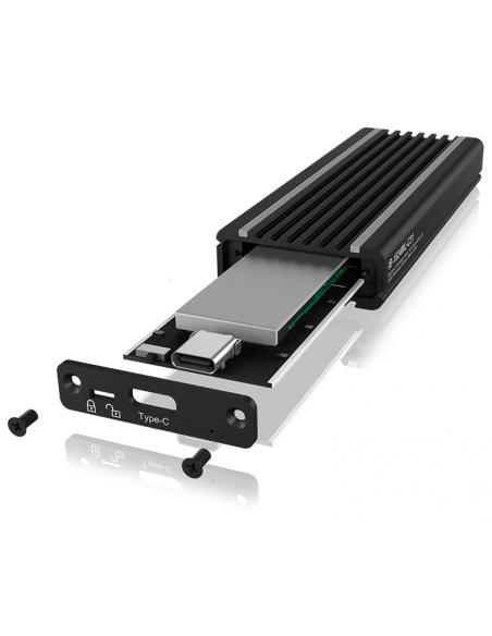 ICY BOX IB-1824ML-C31 SSD-kotelo Musta M.2 Raidsonic 60717 - 4