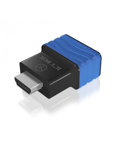 ICY BOX HDMI - VGA, M/F Svart, Blå Raidsonic 70544 - 2