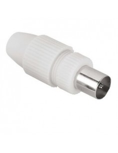 Hama Antenna Male Plug, Coaxial, Clamp Type coaxial connector Hama 44147 - 1