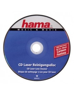 Hama CD Laser Lens Cleaner CD's/DVD's Hama 44721 - 1