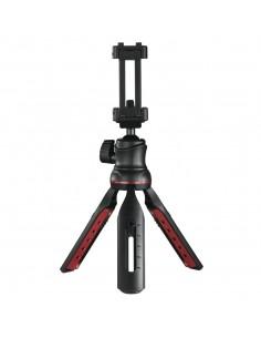 Hama Solid II, 21B kolmijalka Älypuhelin/digikamera 3 jalkoja Musta, Punainen Hama 4635 - 1
