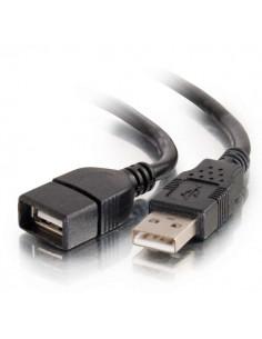 C2G 82106 USB-kablar 1 m USB 2.0 A Svart C2g 82106 - 1