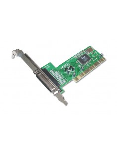 Digitus PCI-Parallel card nätverkskort/adapters Assmann DS-33010-1 - 1
