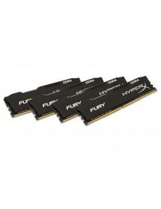 HyperX FURY Black 64GB DDR4 2400MHz Kit memory module 4 x 16 GB Kingston HX424C15FBK4/64 - 1
