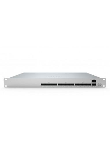 Cisco Meraki MS450-12 verkkokytkin Hallittu L3 Fast Ethernet (10/100) 1U Harmaa Cisco MS450-12-HW - 1