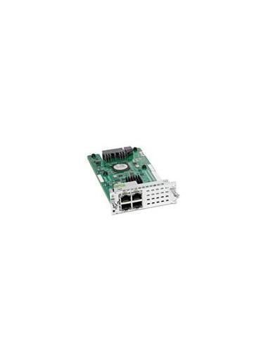 Cisco NIM-ES2-4= nätverksswitchmoduler Gigabit Ethernet Cisco NIM-ES2-4= - 1