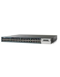 Cisco Catalyst 3560X-48PF-S hanterad L3 Gigabit Ethernet (10/100/1000) Strömförsörjning via (PoE) stöd 1U Blå Cisco WS-C3560X-48