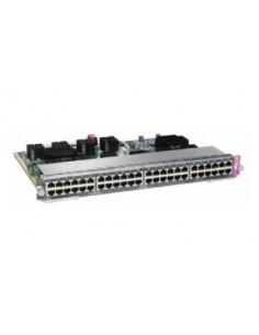 Cisco WS-X4748-UPOE+E= verkkokytkin L2 Gigabit Ethernet (10/100/1000) Power over -tuki 1U Hopea Cisco WS-X4748-UPOE+E= - 1
