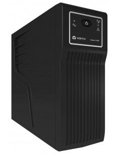 Vertiv Liebert PSP 500VA (300W) UPS-virtalähde Valmiustila (ilman yhteyttä) 4 AC-pistorasia(a) Vertiv PSP500MT3-230U - 1