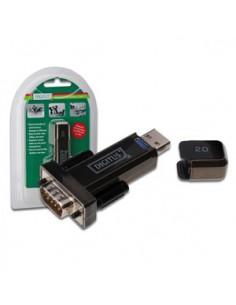 Digitus Converter USB 2.0 D-Sub 9 Male Musta Digitus DA-70156 - 1