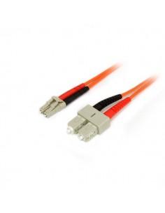 StarTech.com Fiber Optic Cable - Multimode Duplex 50/125 LSZH LC/SC 5 m Startech 50FIBLCSC5 - 1