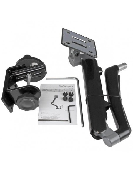 StarTech.com Single Desk-Mount Monitor Arm - Full Motion Articulating Steel Startech ARMSLIM - 8
