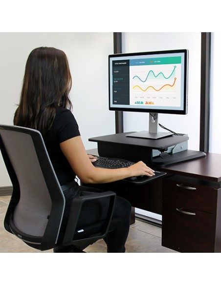 StarTech.com Sit-to-Stand Workstation Startech ARMSTS - 11