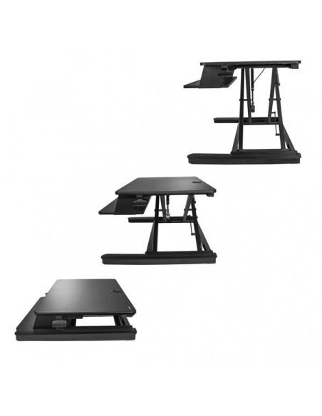 """StarTech.com Höj- och sänkbar skrivbordskonverterare - Stor 35"""" arbetsyta Startech ARMSTSLG - 2"""