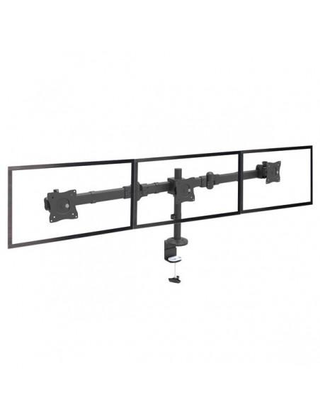 "StarTech.com ARMTRIO monitorin kiinnike ja jalusta 61 cm (24"") Puristin Musta Startech ARMTRIO - 8"