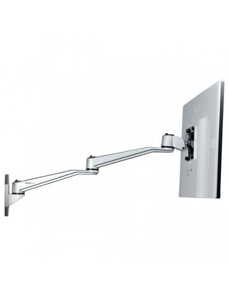 """StarTech.com ARMWALLDSLP monitorin kiinnike ja jalusta 76.2 cm (30"""") Hopea Startech ARMWALLDSLP - 8"""
