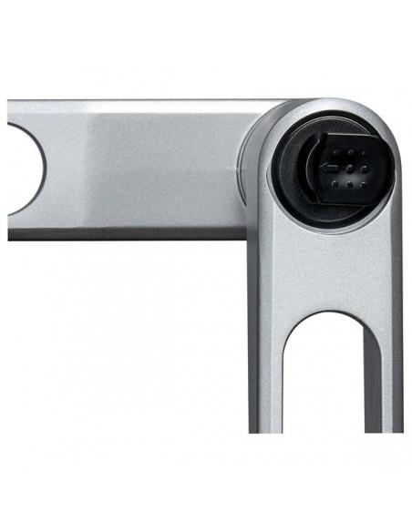 """StarTech.com ARMWALLDSLP monitorin kiinnike ja jalusta 76.2 cm (30"""") Hopea Startech ARMWALLDSLP - 12"""
