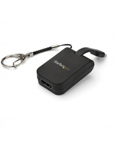 StarTech.com Portable USB-C to HDMI Adapter with Quick-Connect Keychain Startech CDP2HDFC - 1