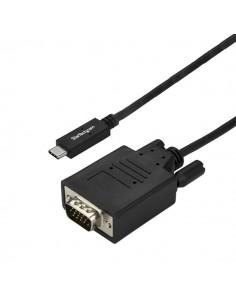 StarTech.com 3 m USB-C till VGA-kabel - 1920 x 1200 Svart Startech CDP2VGA3MBNL - 1