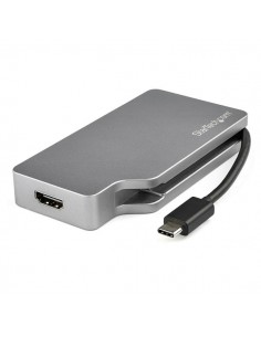 StarTech.com CDPVDHDMDP2G USB grafiikka-adapteri 4096 x 2160 pikseliä Harmaa Startech CDPVDHDMDP2G - 1