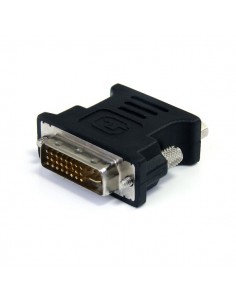 StarTech.com DVI to VGA Cable Adapter - Black M/F Startech DVIVGAMFBK - 1