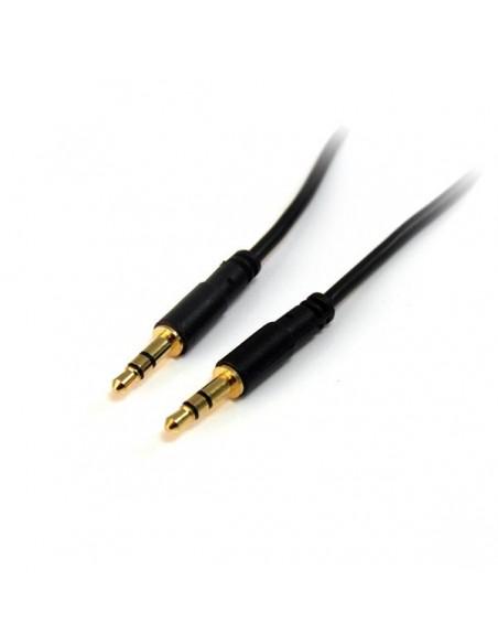 StarTech.com MU10MMS audiokaapeli 3 m 3.5mm Musta Startech MU10MMS - 1