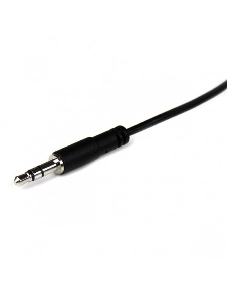 StarTech.com MU2MMFS audiokaapeli 2 m 3.5mm Musta Startech MU2MMFS - 2