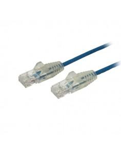 StarTech.com 2.5 m CAT6 Cable - Slim Snagless RJ45 Connectors Blue Startech N6PAT250CMBLS - 1