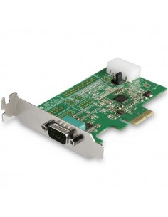 StarTech.com 1-port PCI Express RS232 Serial Adapter Card - PCIe Host Controller to DB9 16950 UART Low Profile Expansion Startec