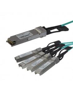 StarTech.com Cisco QSFP-4X10G-AOC3M-kompatibel - aktiv QSFP+-breakout-optikkabel 3 m Startech QSFP4X10GAO3 - 1